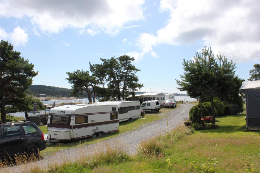 Bilde av campingvogner.